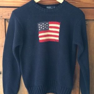 Polo Ralph Lauren iconic Flag Sweater